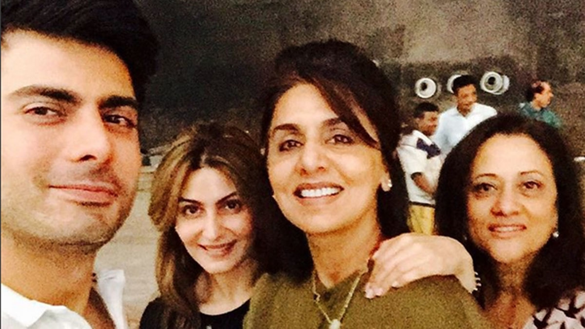 Did you know? Neetu Kapoor had a 'fan moment' with Fawad Khan!