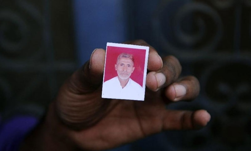 Mohammad Akhlaq was dragged from his house and beaten to death by around 100 people over rumours he had eaten beef─AFP/File