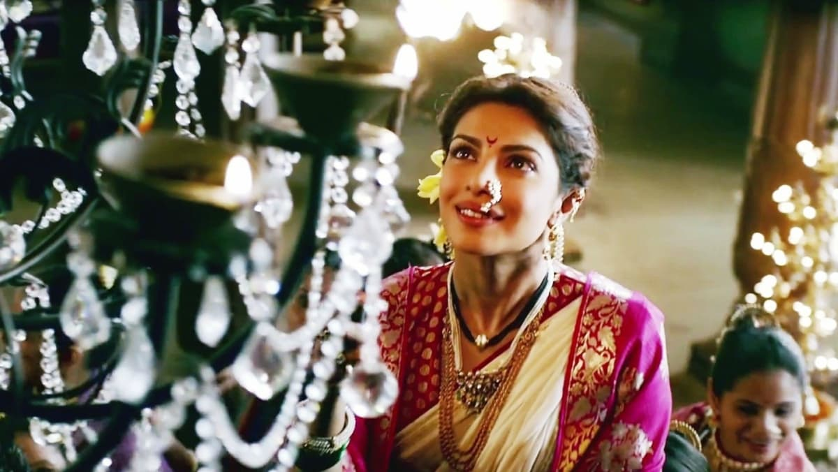 Image result for bajirao mastani priyanka look