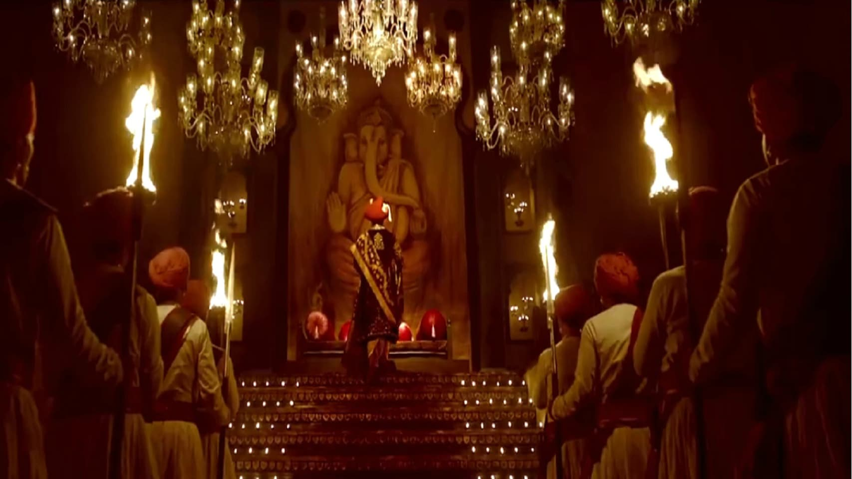 Bhansali is a master of creating each frame as a scene of crafted elegance