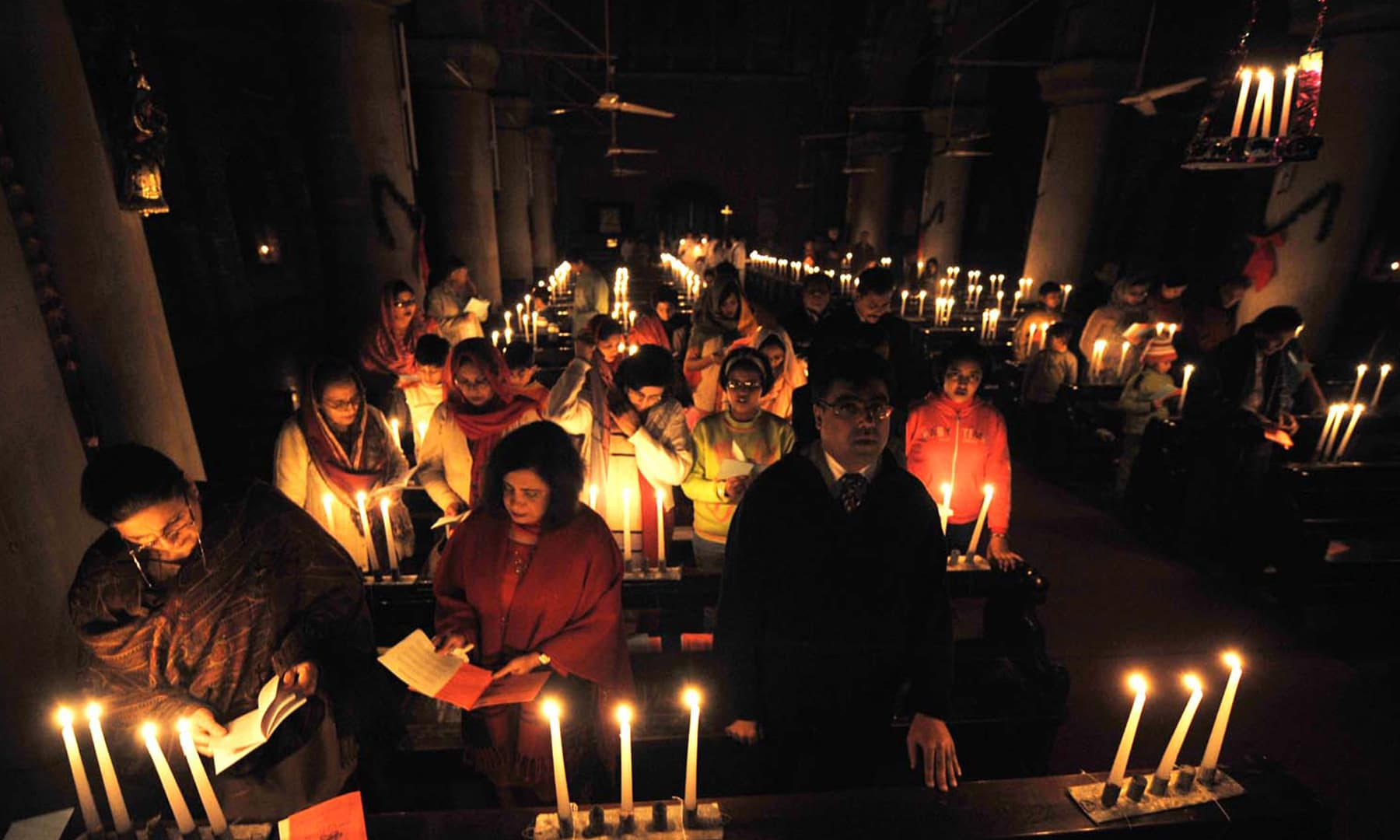 Churches across Pakistan are candlelit in celebration of Christmas | M Arif, White Star