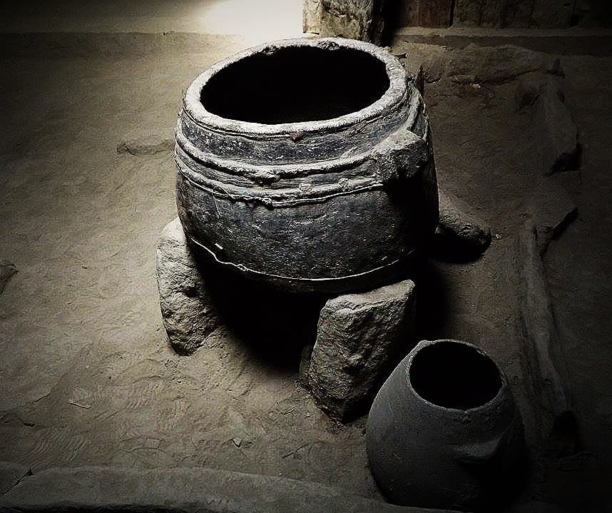 Pots used by the royal family.