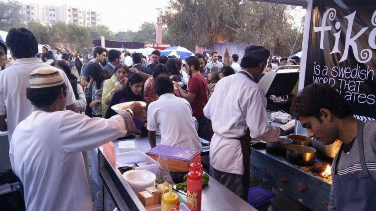 Fika's stall at the Karachi Eat —Photo Courtesy: Fika's Facebook Page