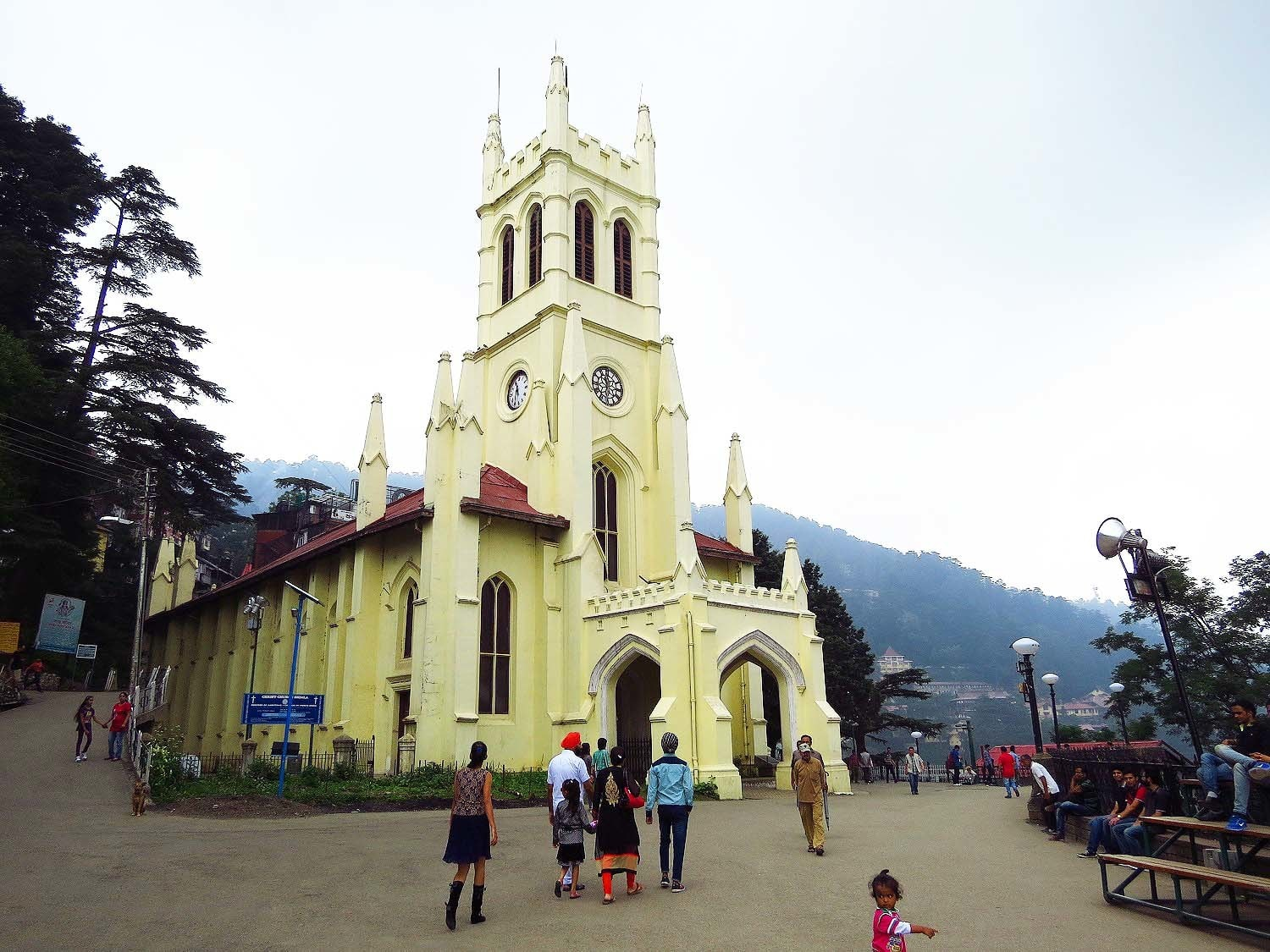 A church in Shimla.