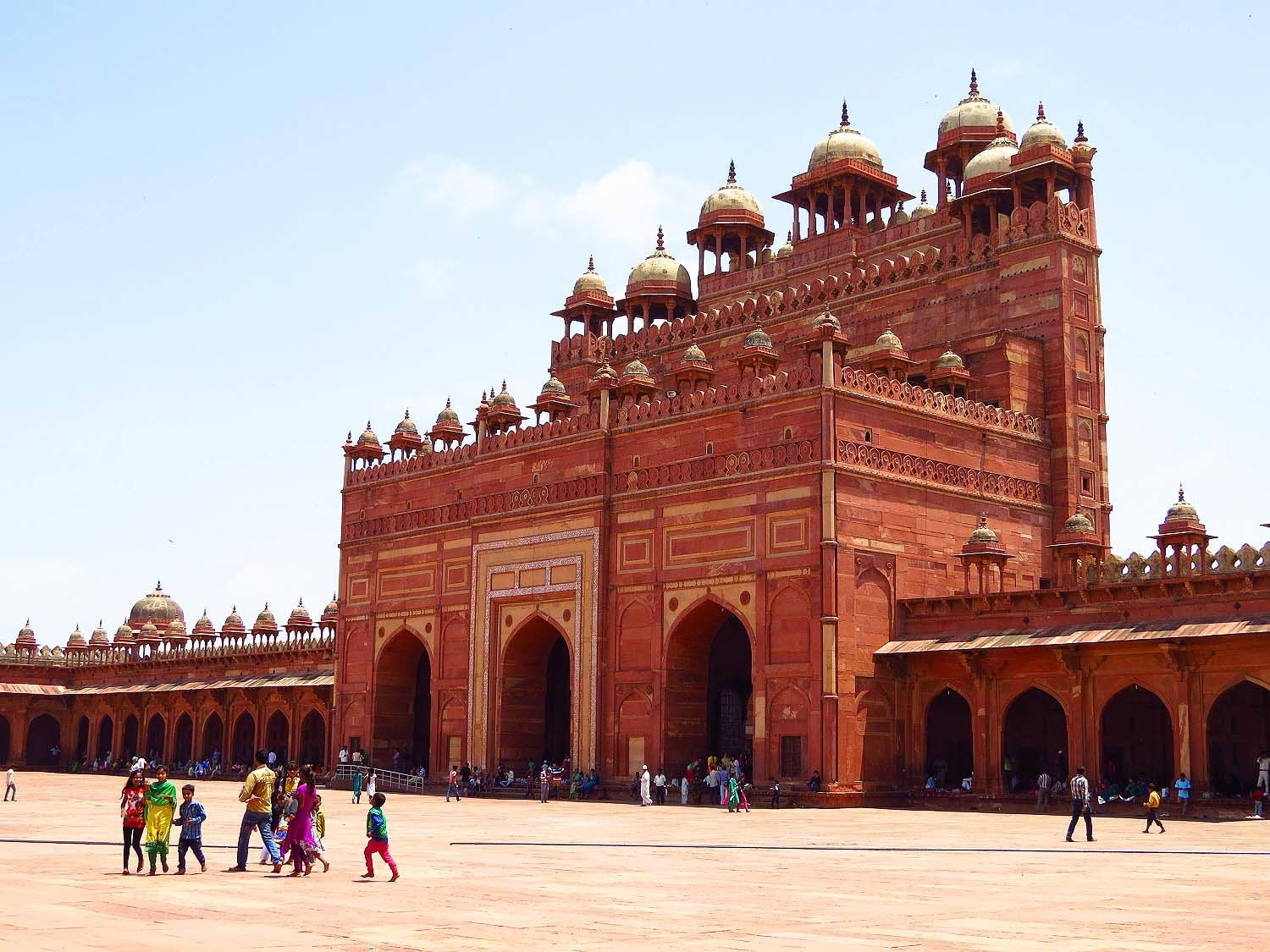Kings Palace, Fatehpur Sikri.
