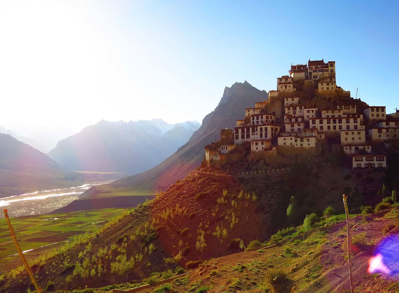 Ki Monastery, Spiti Valley.