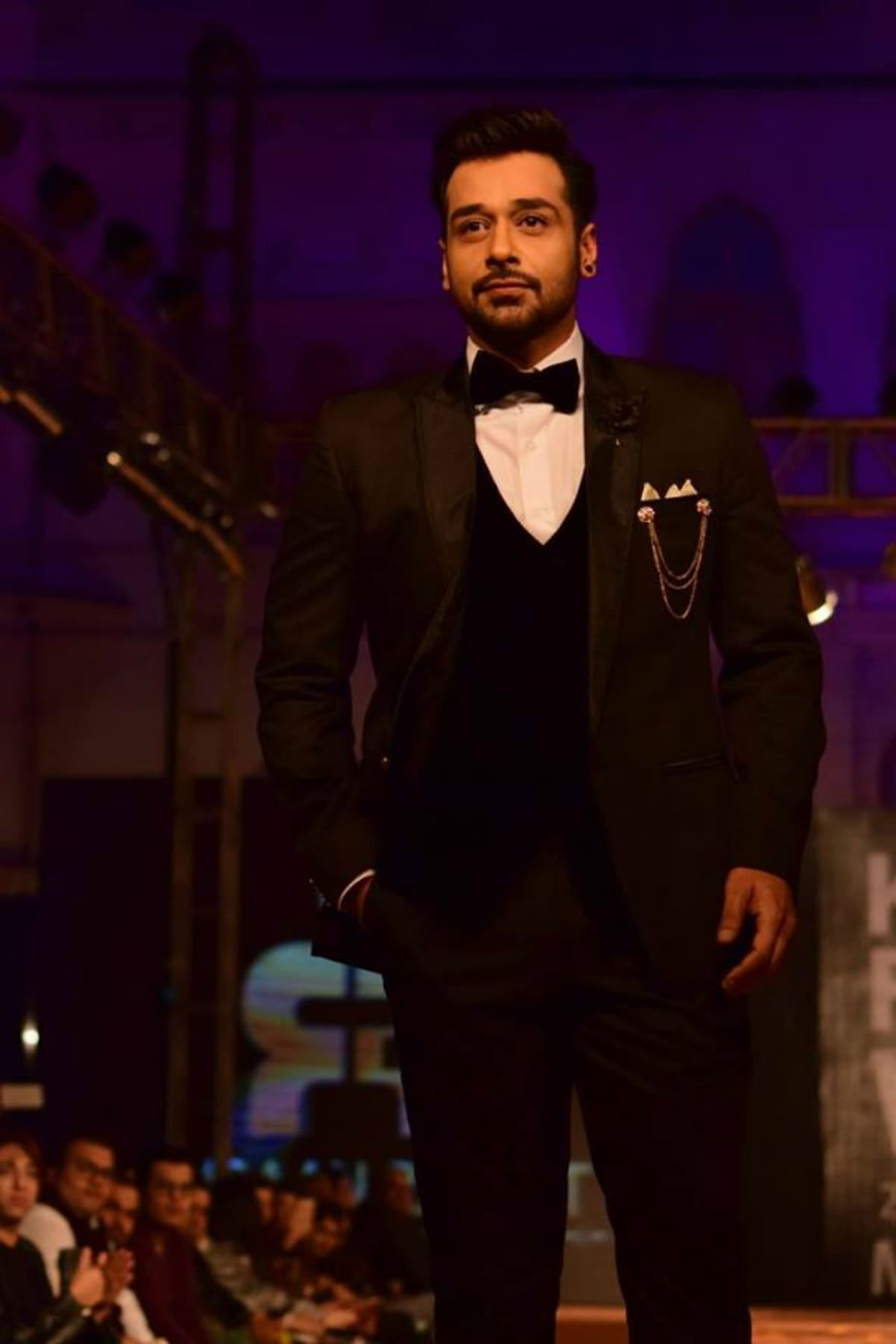 A very dapper Faysal Qureshi walked for Emraan Rajput