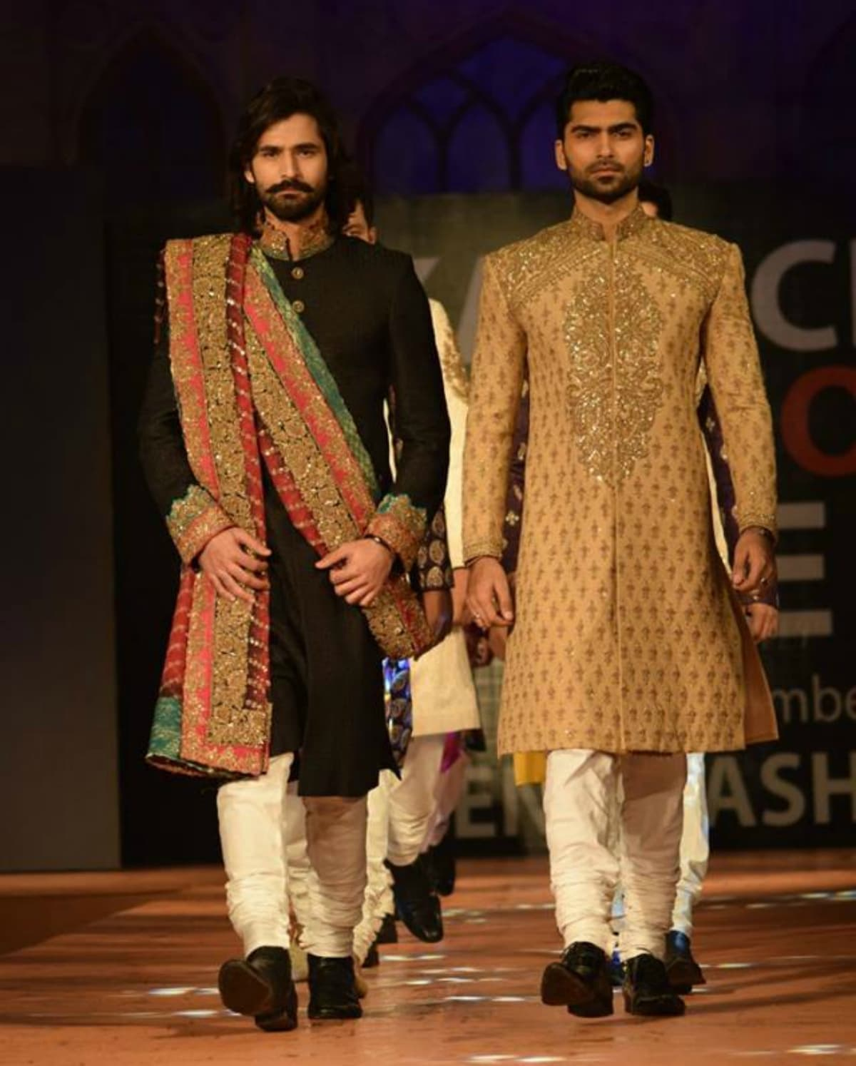 Is this sherwani worn by one of the Ho Mann Jahaan boys?