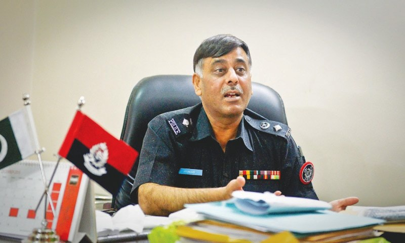 Malir SSP Rao Anwar is known as an 'encounter specialist' and comes across as someone who doesn't want to hide this fact, irrespective of the controversy surrounding such cases.—Fahim Siddiqi/White Star