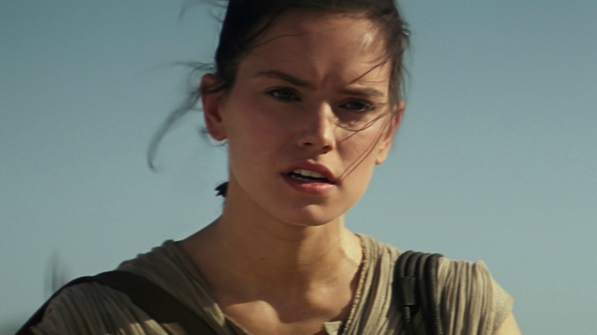 Daisy Ridley plays Rey in the movie
