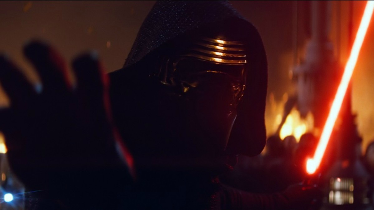 A dark warrior strong with the Force, Kylo Ren commands First Order missions with a temper as fiery as his unconventional lightsaber.