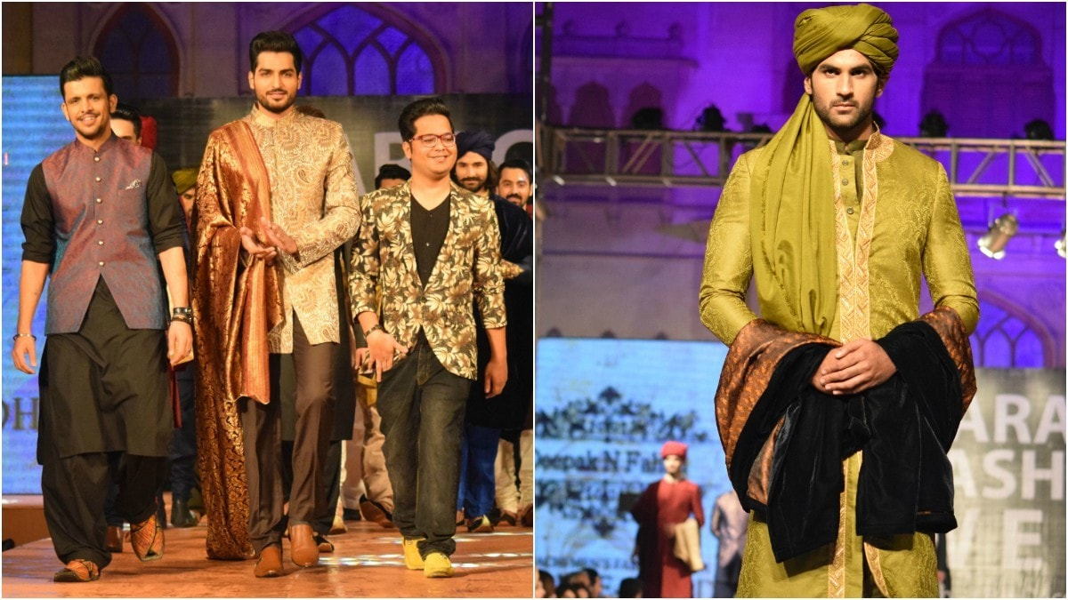 Deepak and Fahad presented a cohesive collection