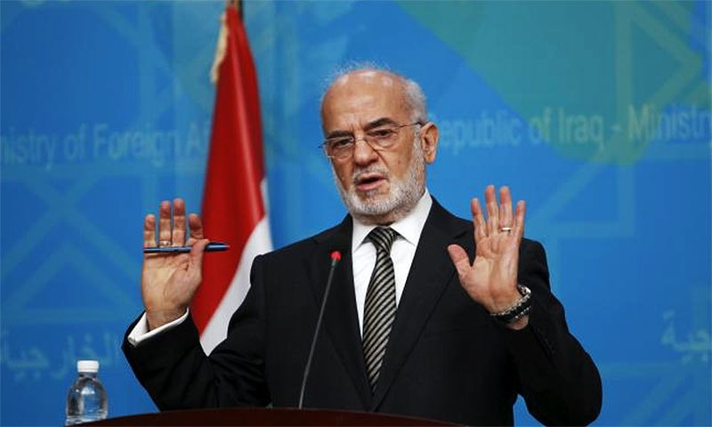 Iraq's Foreign Minister Ibrahim al-Jaafari said Iraq was committed to exhausting peaceful diplomatic avenues to avoid a crisis with  Turkey but all options remain open.─ Reuters