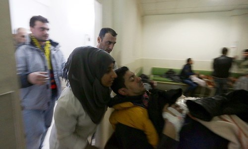 16 dead, 30 wounded in three blasts in northeast Syria