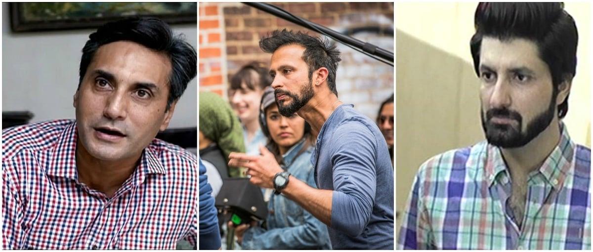 The terrible trio: Adnan Siddiqui (Kitna Satatay Ho), Ali Kazmi (Jackson Heights), Syed Jibran (Chup Raho)