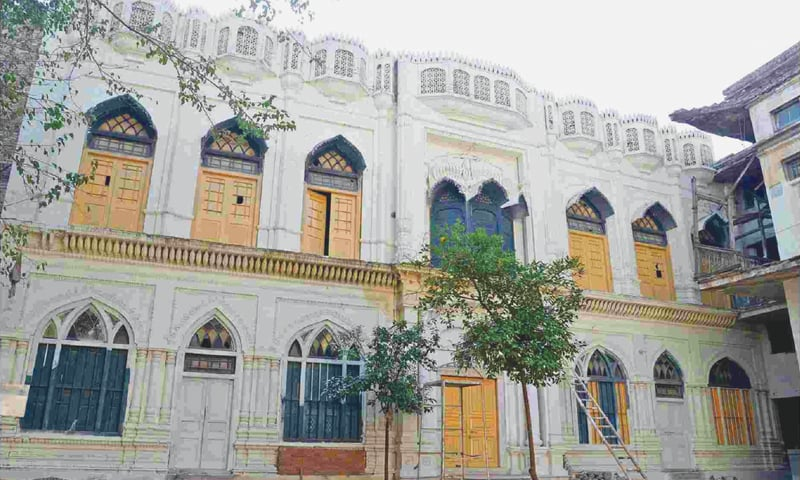 A file photo of the Bhai Beeba Singh gurdwara in Peshawar.—White Star