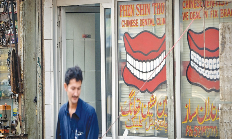 The curious case of the missing Chinese dentists