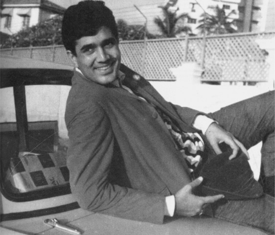Rajesh Khanna in his heyday. Photo from the book