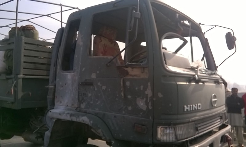 TTP claims IED attack on army truck near Islamabad-Peshawar Motorway toll plaza