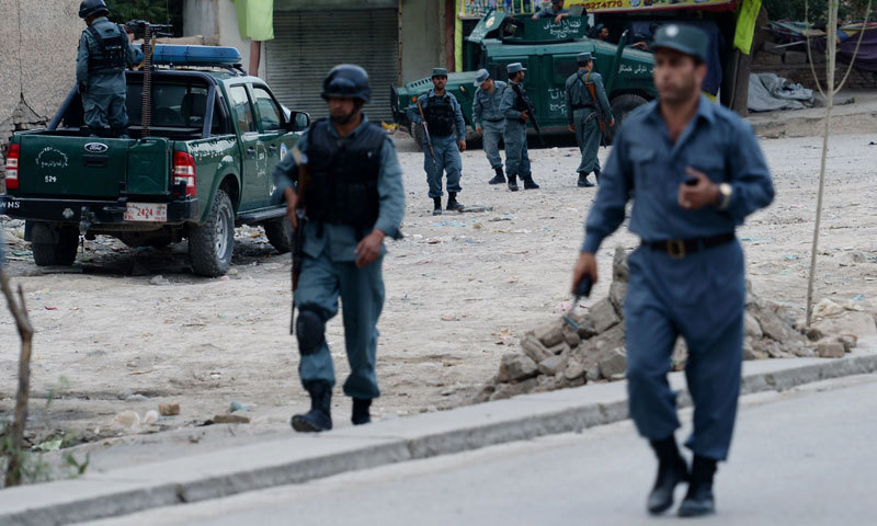 """""""We are being attacked. Fighting is going on,"""" an Indian consulate official said. AFP/File"""