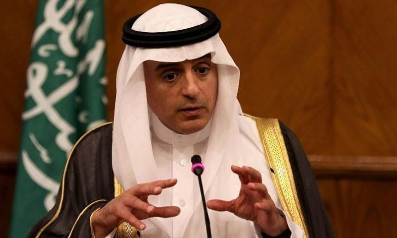 Saudi Foreign Minister Adel al-Jubeir says Iran's history is full of negative interference and hostility in Arab issues. —AFP/File
