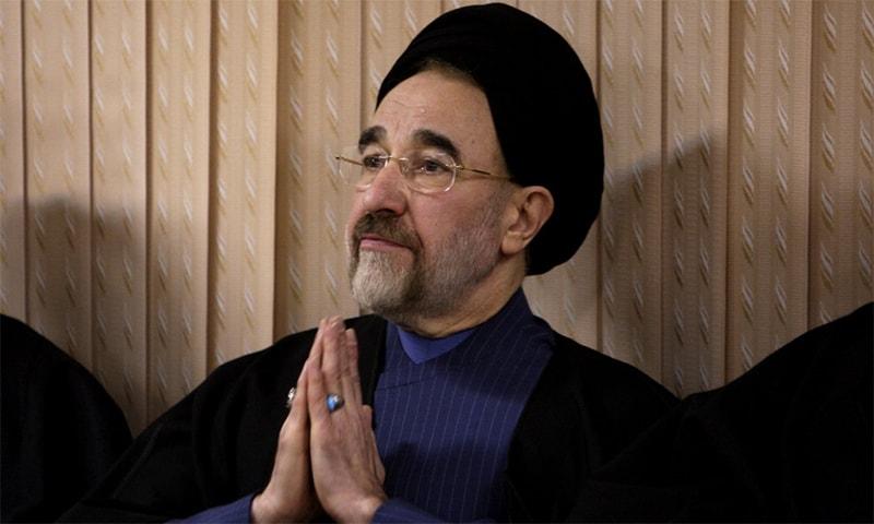 Former Iranian president Mohammad Khatami. ─ AP/File
