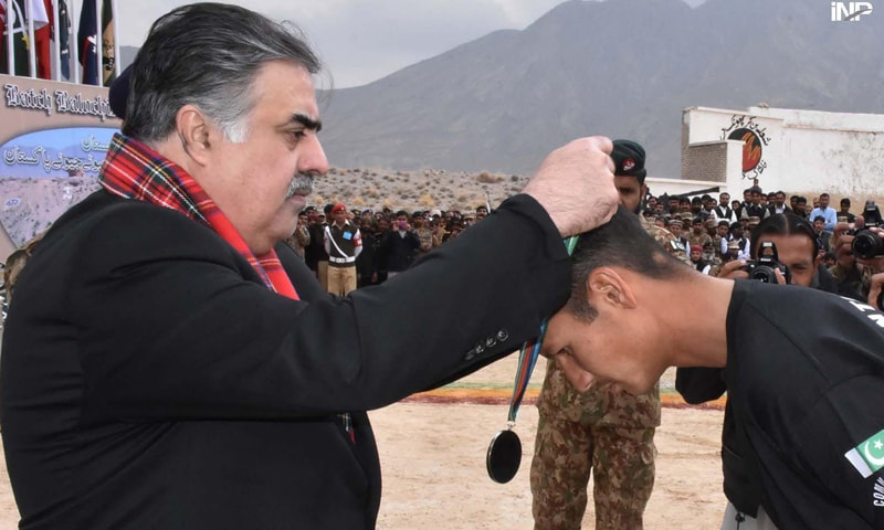 CM praises army for restoring peace in Balochistan