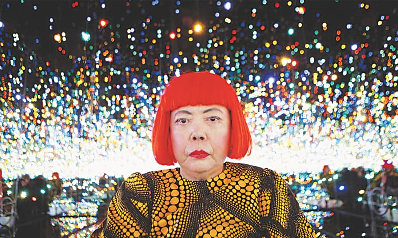 YAYOI Kusama holds the auction price record for any living female artist.