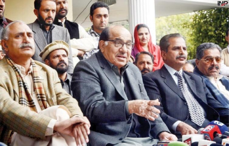 Former Senator Zafar Ali Shah