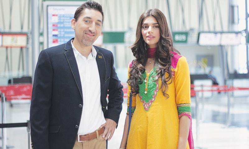 Adeel Hashmi and Sanam Saeed