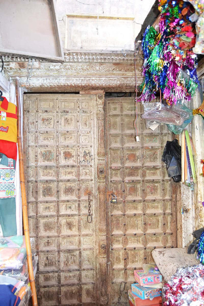 The entrance to the Gurudwara.