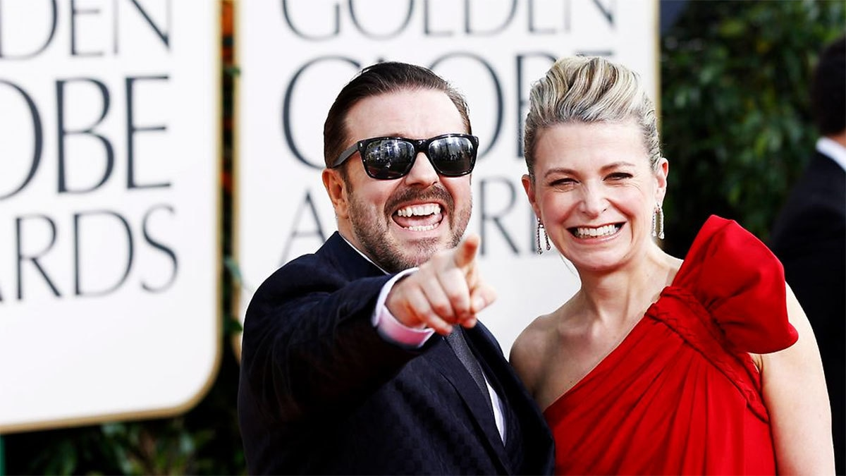Gervais has made his apologies in advance for what he will say. ─Reuters/File