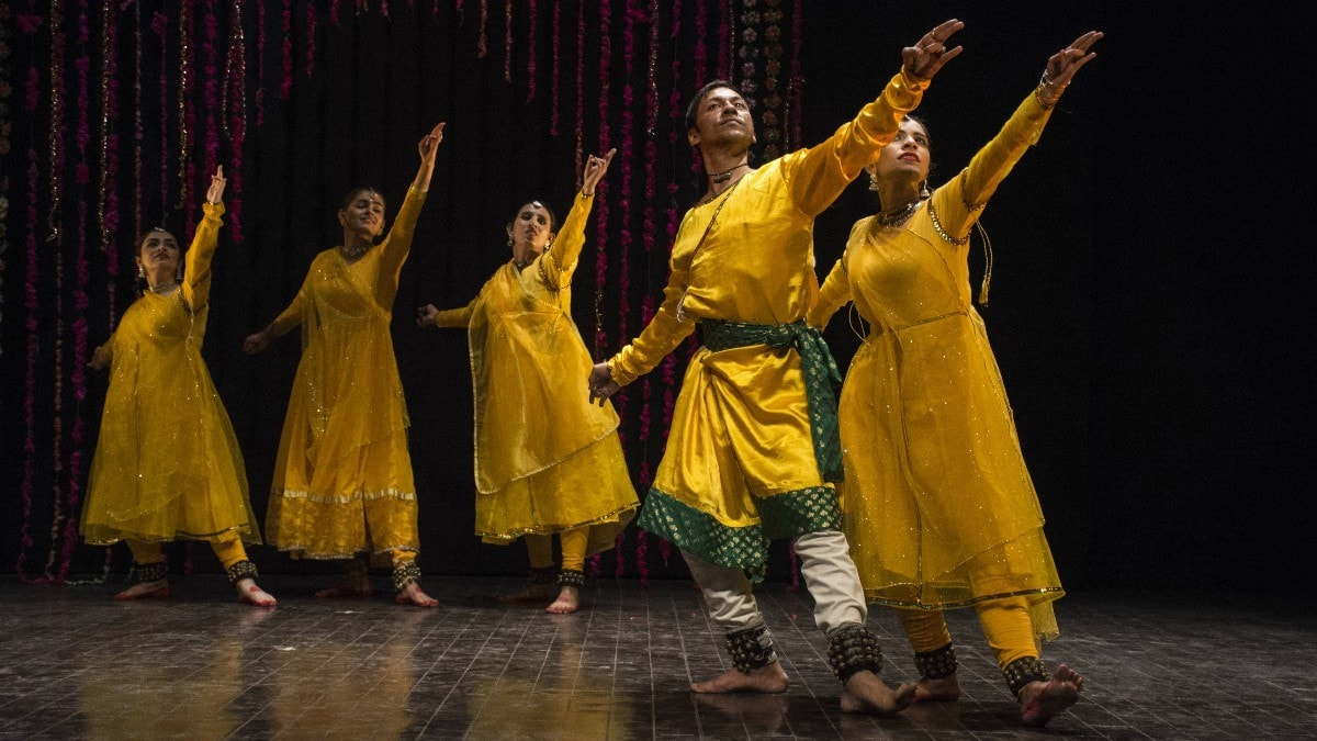 Kermani, has mastered several Indian classical dance forms – ­including Kathak, Bharatanatyam and Odissi. —Photo by author