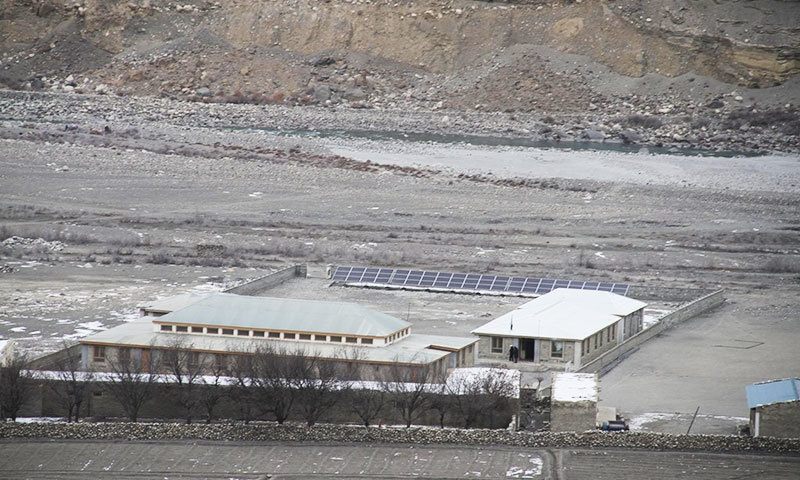 The Naubahar school produces 20KV electricity through solar panels.