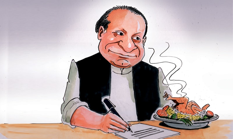 Satire: Diary of Nawaz Sharif
