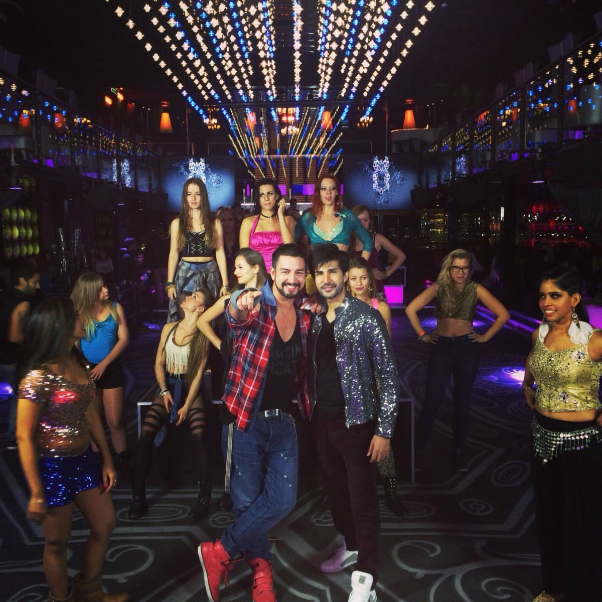 In addition to singing, Adeel may be busting a move or two in the film