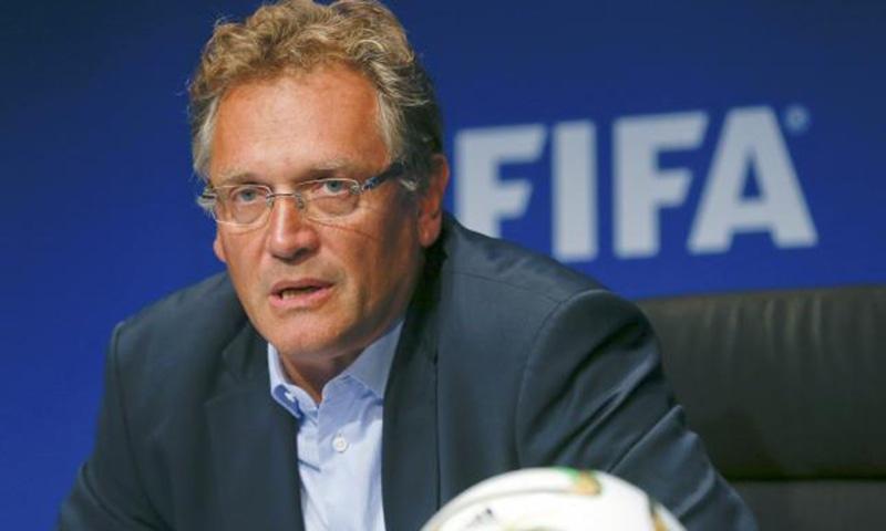 FIFA fires Secretary General Jerome Valcke