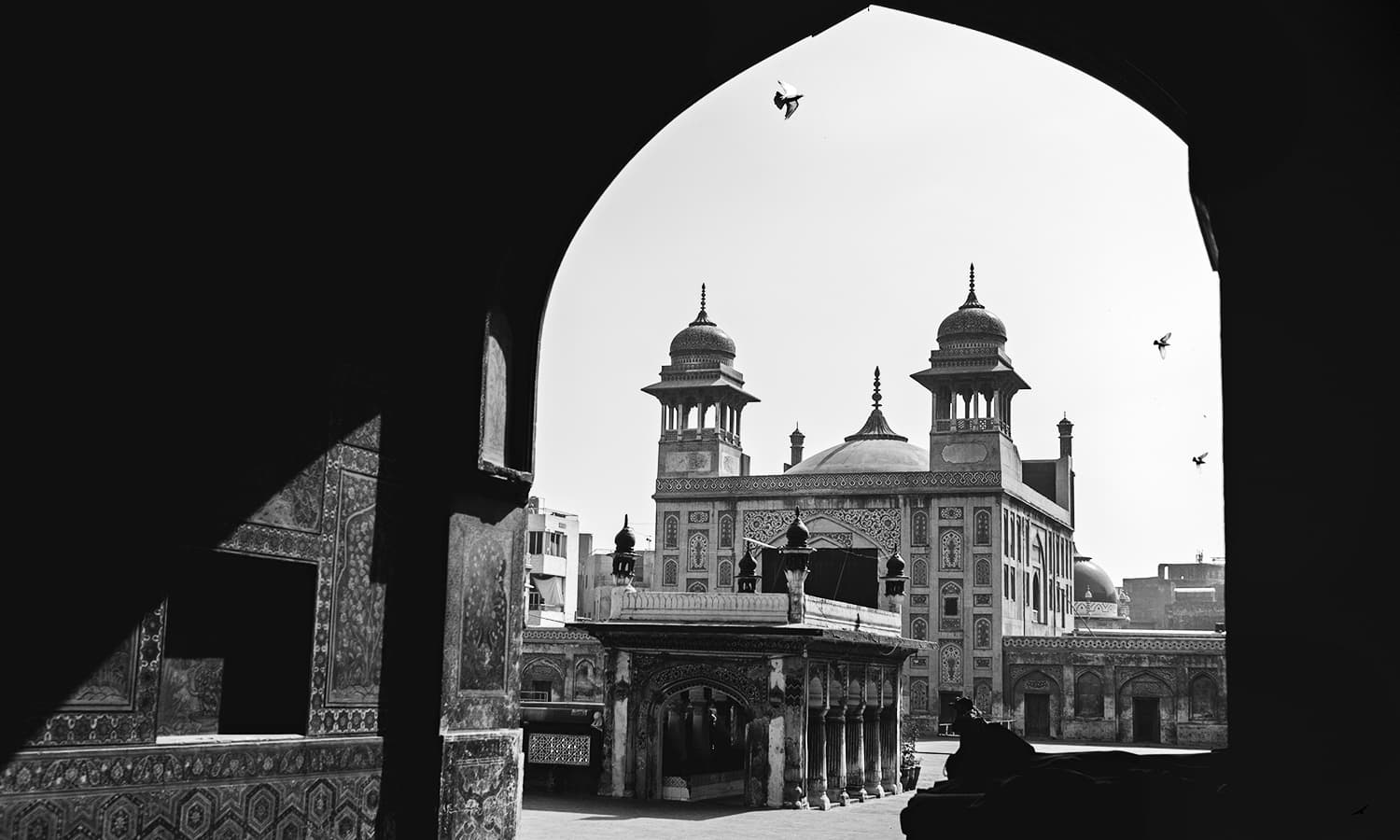 A city of lost wonders. I remember watching these old buildings and wondering who used to live there and what their lives were like? —Photo by Khalil Shah/The copyrights of the image are the sole property of the photographer and cannot be re-sold or transferred in any way.