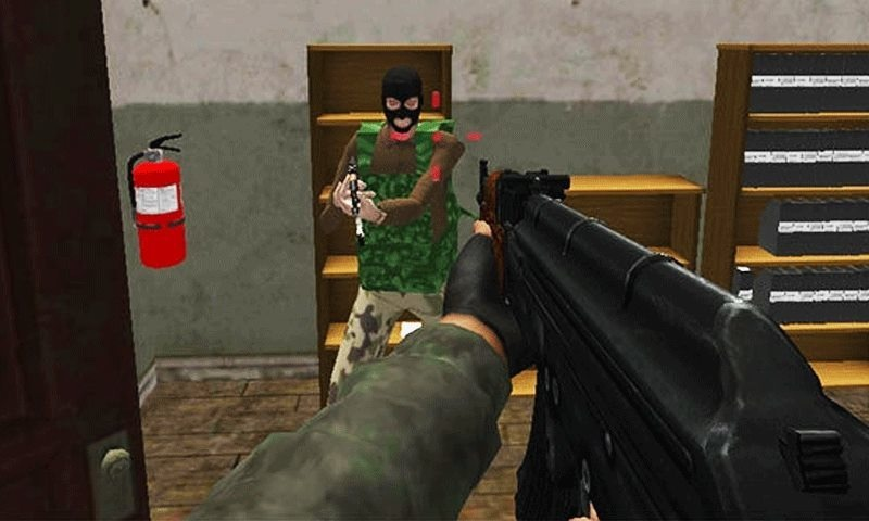 This first-person-shooting game is based on the Dec 16, 2014, Peshawar school tragedy. – Screenshot