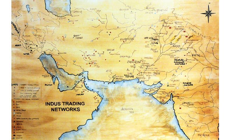 Harappan Connections Opens At Gandhara Art Space Newspaper Dawn Com
