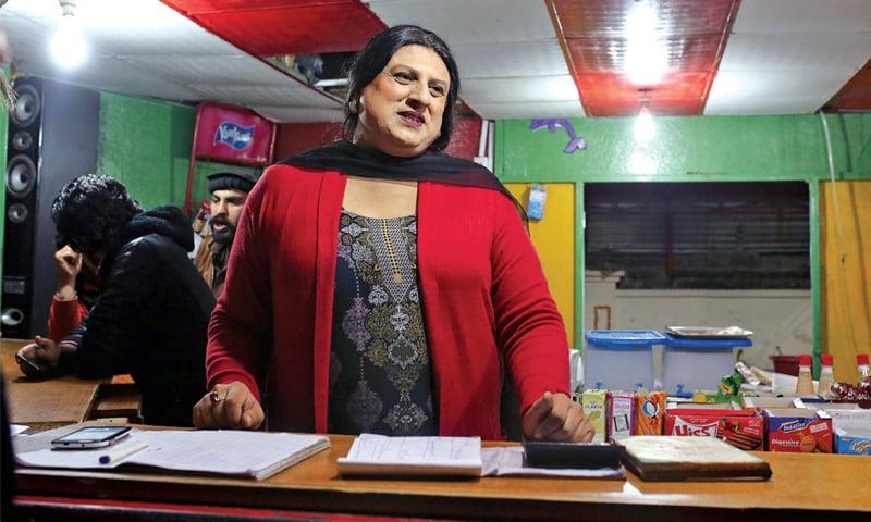 Bubli Malik, cafeteria manager, NCA Rawalpindi