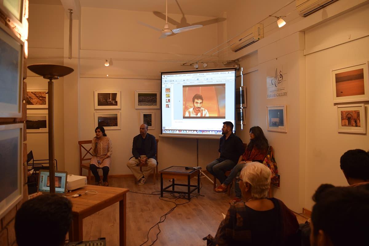 (L-R): Shahana Rajani. Arif Mehmood, Tapu Javeri and  Sameera Raja