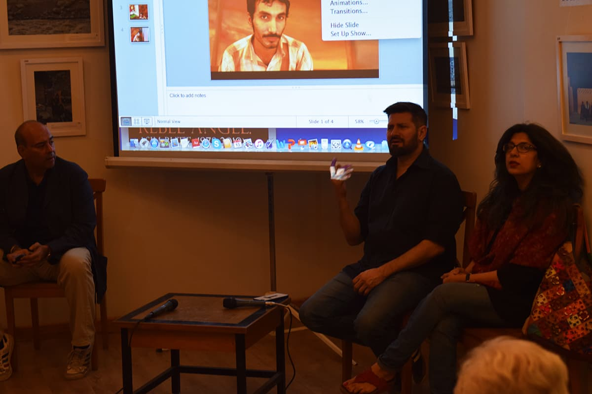 Tapu Javeri speaks during the discussion