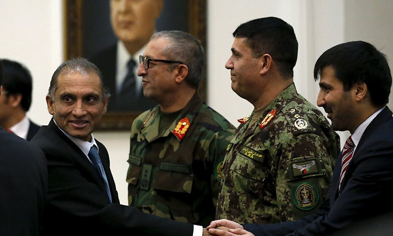 Four nations call on Taliban to join Afghan peace talks