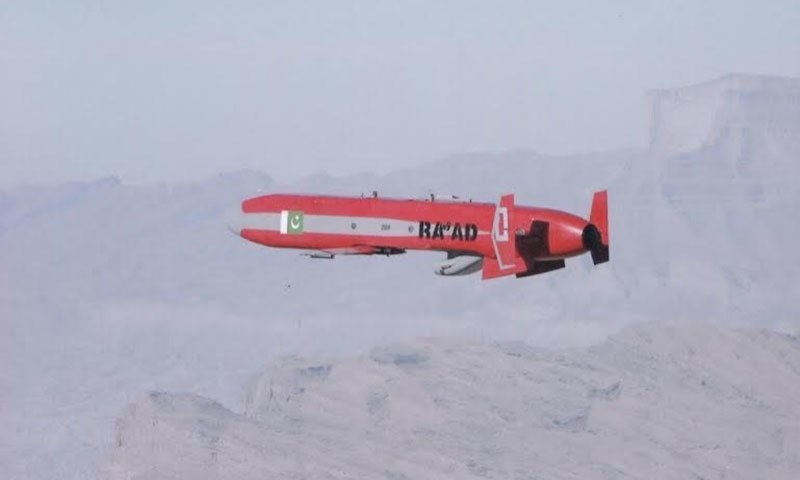 Special terrain hugging low level flight maneuvers enable Ra'ad to avoid detection and engagement by contemporary air defence systems. –photo courtesy ISPR