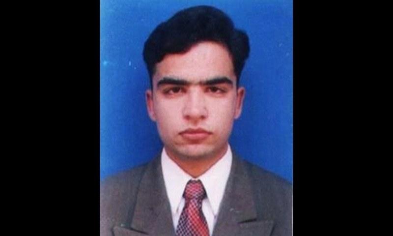 اسسٹنٹ پروفیسر سید حامد حسین— ڈان نیوز فوٹو