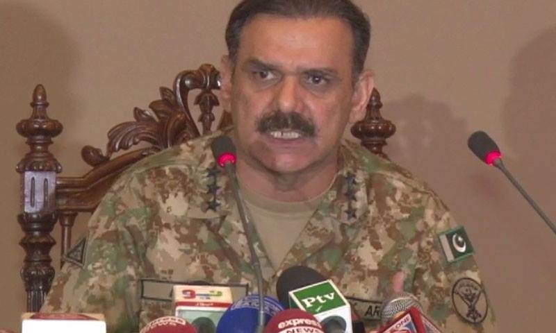 Lt Gen Asim Bajwa says terrorists' phone calls have been traced and analysed; two cell phones recovered.