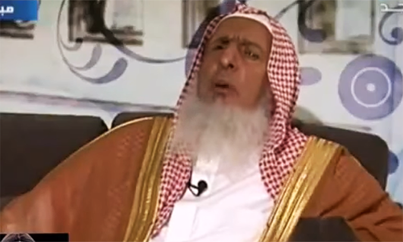 Saudi Arabia's grand mufti says playing chess is 'haram' as it encourages gambling and is a waste of time. ─ video screenshot