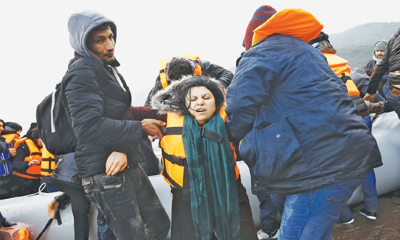 44 migrants drown as two boats sink off Greek islands