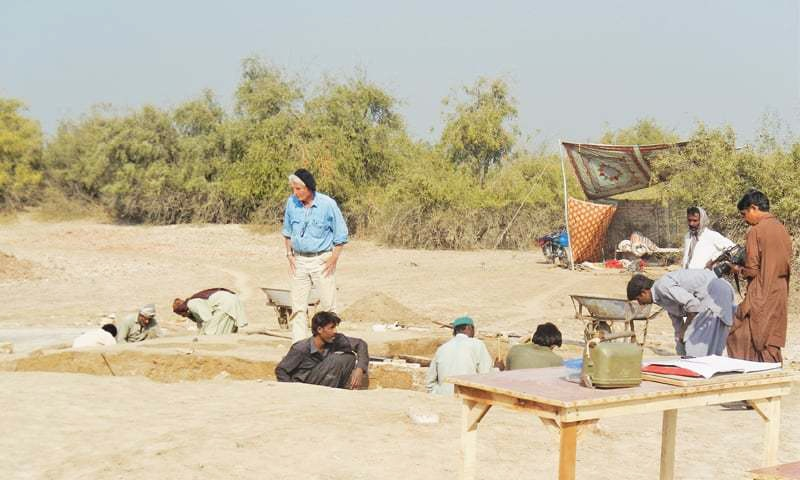 French experts discover artefacts at Chahun Jo Daro